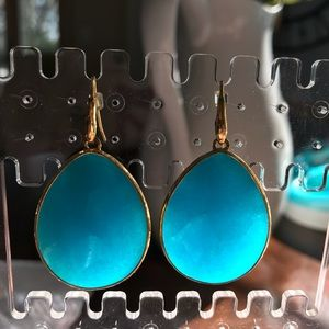 Stella and Dot turquoise drops